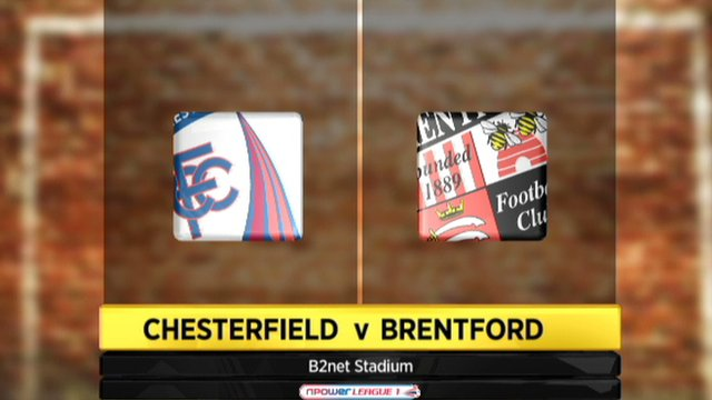 Chesterfield 3-2 Brentford