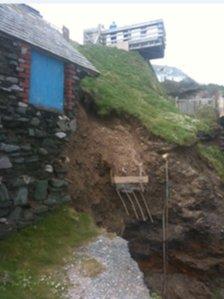 Hallsands landslide