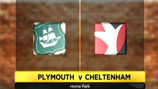 Plymouth 1-2 Cheltenham
