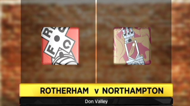 Rotherham 1-1 Northampton