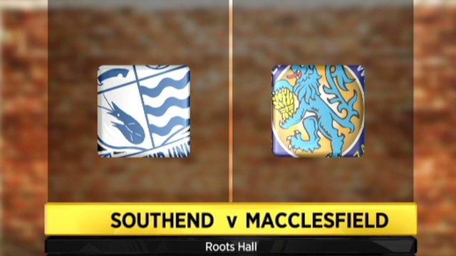 Southend 2-0 Macclesfield