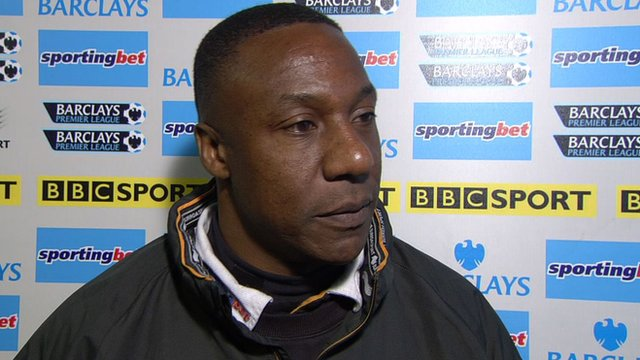 Wolves caretaker boss Terry Connor