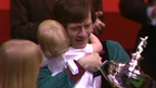 Snooker legend Alex 'Hurricane' Higgins