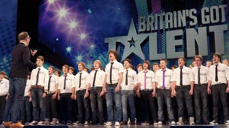 Only Boys Aloud at Britain&#039;s Got Talent