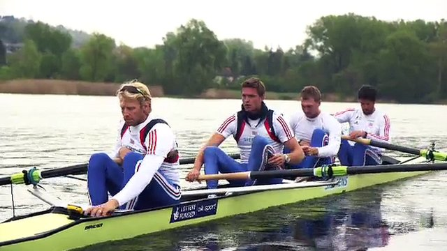 Team GB's coxless four