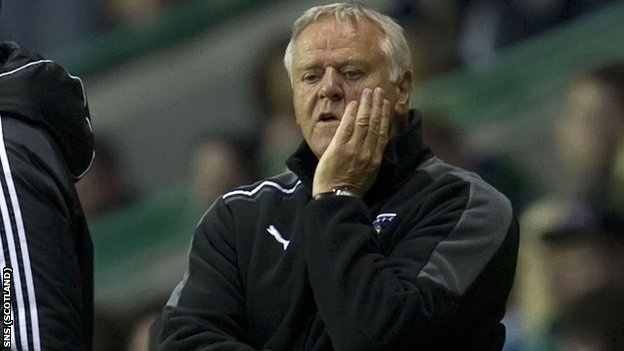 Dunfermline boss Jim Jefferies
