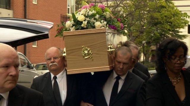 Grace Kamara's funeral