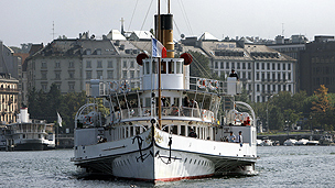 Steamer at Geneva