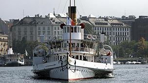 Steamer at Geneva