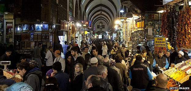 Grand Bazaar in Istanbul