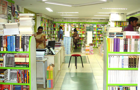Bookshop in Trivandrum, Kerala