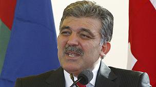 Turkish President Gul