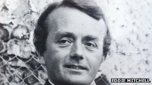 Father Keith Wilkie Denford pictured in the 1970s (picture from Eddie Mitchell)