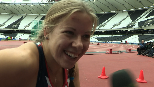British wheelchair racer Hannah Cockroft