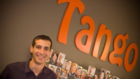 Tango&#039;s co-founder and chief technology officer, Eric Setton