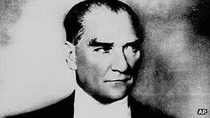 Turkish leader Kemal Ataturk