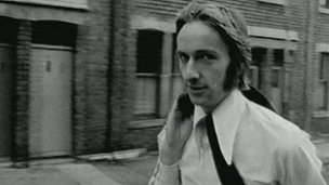Alan Hull. BBC Look North archive footage circa 1960s