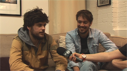 Winston Marshall and Ben Lovett