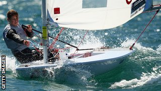 Alison Young will make her Olympic debut in the Laser Radial event.