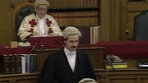 Lord Ross at the High Court in Edinburgh in 1996