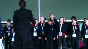 Primary school choir
