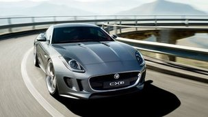 Jaguar car