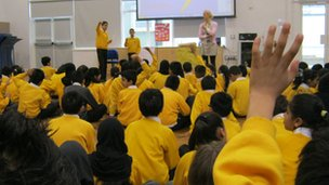 Downside Primary school discussed many issues.  They felt that Islam was important to them.