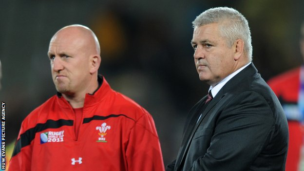 Shaun Edwards and Warren Gatland