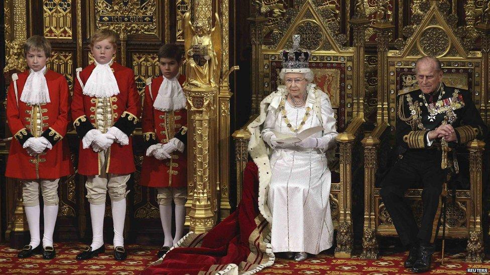 Bbc News In Pictures Queen 39 S Speech