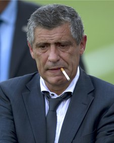 Greece coach Fernando Santos