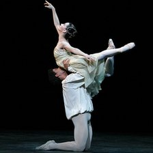 A scene from the Royal Ballet's Romeo and Juliet. Photo by Dee Conway