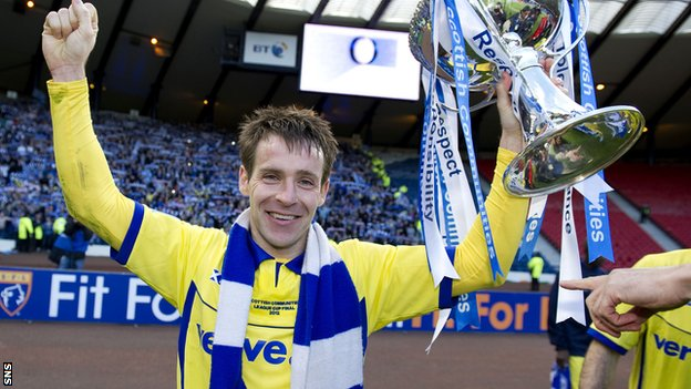 Garry Hay was a League Cup winner with Kilmarnock in March