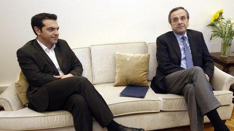 Alexis Tsipras, 9 May