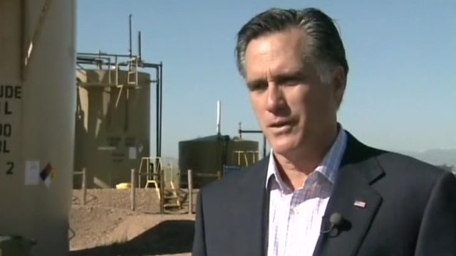 Mitt Romney is Fort Lupton, Colorado