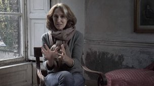 The Wasteland app featured a performance by Fiona Shaw filmed in Dublin