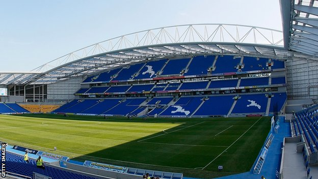 Brighton &amp; Hove Albion&#039;s Amex Stadium