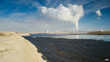 Tar sand pollution in Canada