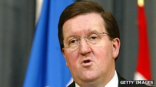 Former Nato secretary-general George Robertson