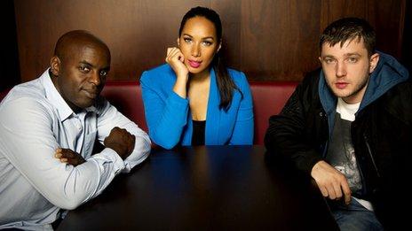 Trevor Nelson, Leona Lewis and Plan B