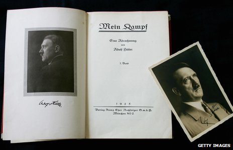 Mein Kampf: Signed first edition