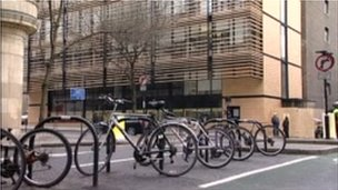 Bikes outside UCL