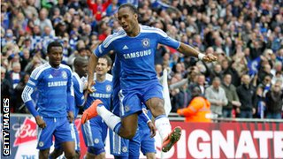 Didier Drogba FA Cup Final