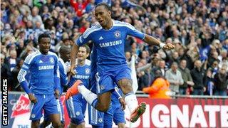Didier Drogba FA Cup Final