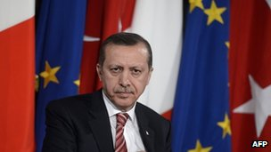 Turkish PM Recep Tayyip Erdogan (8 May 2012)