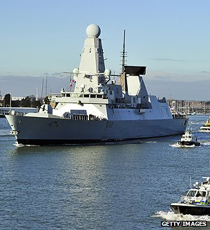 Royal Navy destroyer