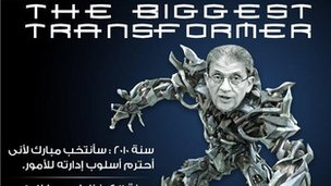 Amr Moussa as a transformer