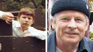 George Rix, then and now