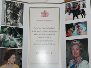 The album Emma received from the Queen