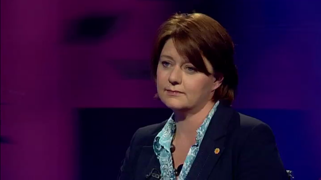 Plaid Cymru leader, Leanne Wood AM
