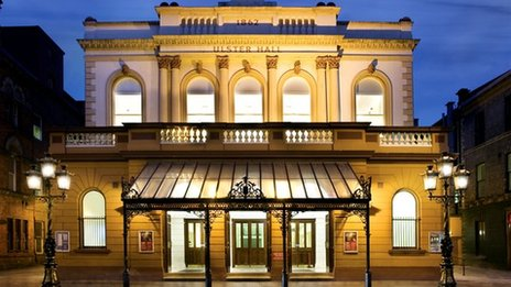 The Ulster Hall is 150